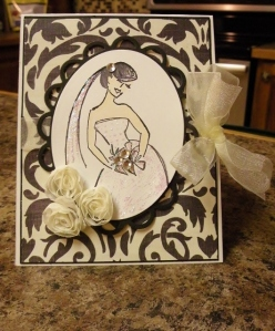 nancy wedding card