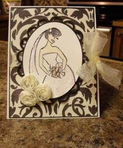 nancy wedding card